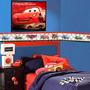 Faixa Adesiva Decorativa Parede Infantil Para Quarto Carros