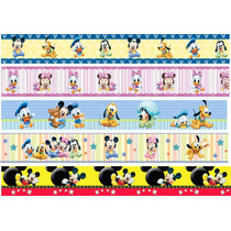 Faixa Border Decorativa Infantil Bebê Disney Mickey Minnie