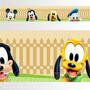 Adesivo 123 Faixa Border Disney Mickey Baby 05 Un Mod 225