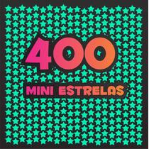 Kit 400 Mini Estrelas Que Brilham No Escuro + Lua + Cometas