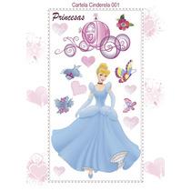 Princesas Disney Adesivo Já Recortado Lindos 100x50
