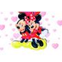 Painel Decorativo Disney Infantil Lona Minnie Arte Grátis