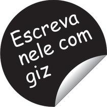 Adesivo Infantil De Parede Decorativo Lousa Quadro Negro Giz