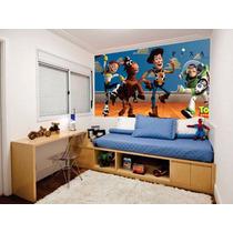Adesivos Decorativos Em Vinil Toy Strory Painel 5m2