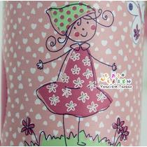 Faixa Border Decorativo Adesivo Infantil Bebê - Menina