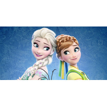 Painel Infantil Frozen Fever 2m X 1,3m Lona Festa Banner