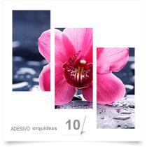 Painel Adesivo Parede Decorativo Flores Orquidea 10