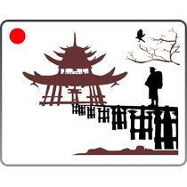 Adesivo Para Ambiente, Parede - Paisagem Japonesa - Oriental