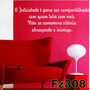 Adesivo Decorativo De Parede Frases Bíblicas Fz308