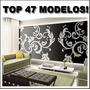 Adesivo Decorativo De Parede - Modelos 2014 Tam G - Promoção