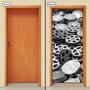 Adesivo Decorativo De Porta - Rolos De Filme - 535mlpt
