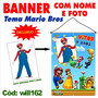 Banner Festa Infantil Aniversário - Mario Brothers Will162