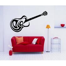 Adesivo Decorativo Parede Música Violão Guitarra Notas Music
