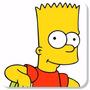 Kit Com 6 Adesivos Decorativos Parede Simpsons + Brindes