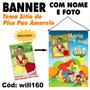Banner Festa Aniversário Sítio Do Pica Pau Amarelo Will160