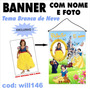 Banner Digital Impresso Em Lona - Branca De Neve Will146
