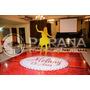 Adesivo Para Pista De Dança 2,5x2,5 Mt | Casamento|15 Anos