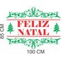 Adesivos Decorativo Natal Modelo Novo Vitrine Loja F. Gratis
