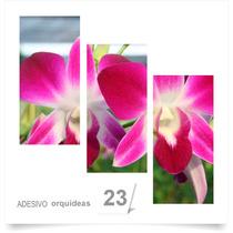 Painel Adesivo Parede Decorativo Flores Orquidea Quarto 23