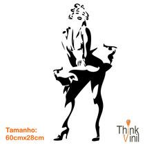 Adesivo Cinema - Marilyn Monroe - 60cm X 30cm | Think Vinil