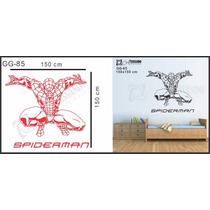 Adesivo Decorativo Papel De Parede Infantil - Homem Aranha