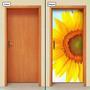 Adesivo Decorativo De Porta - Girassol - 389mlpt
