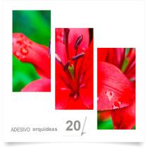 Painel Adesivo Parede Decorativo Flores Orquidea Quarto 20
