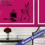 Adesivo Decorativo De Parede - Manicure Cabeleireiro - Man05