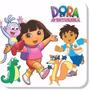 Adesivo Parede Decorativo Dora Aventureira Infantil Kit