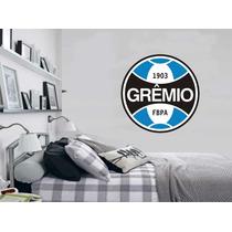 Adesivo Decoração Parede Sala Quarto Escudo Time Grêmio