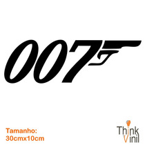 Adesivo Cinema - Filme 007 30cm X 10cm | Think Vinil