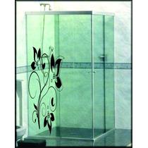 Adesivos Decorativos Box Blindex Espelho Vidro Decorar .