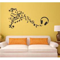 Adesivo Decorativo Parede Musical Notas Musicais