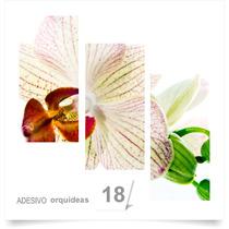 Painel Adesivo Parede Decorativo Flores Orquidea Quarto 18