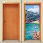 Adesivo Decorativo De Porta - Paisagem - Natureza - 368mlpt