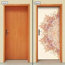 Adesivo Decorativo De Porta - Mandala - 099mlpt