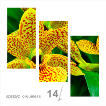 Painel Adesivo Parede Decorativo Flores Orquidea 14