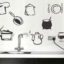 Adesivos De Parede - Utensílos De Cozinha 36