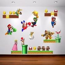 Adesivo Decorativo De Parede - Super Mario Bros 348