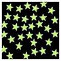 100 Estrela Que Brilha No Escuro 3cm Alta Qualidade