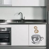Adesivo Decorativo Xícara De Café - Tamanho Grande