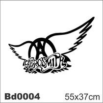 Adesivo Bd0004 Aerosmith Rock Decoração Parede