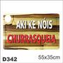 Adesivo Decorativo Divertido Churrasco D342