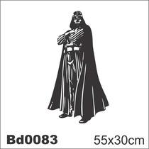 Adesivo Bd0083 Darth Vader Star Wars Filme Decoração Parede