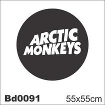 Adesivo Bd0091 Arctic Monkeys Rock Decoração Parede