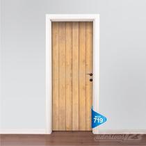 Adesivo 123 Porta Madeira Demolição Mod 719