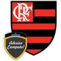 Adesivo Escudo Flamengo Futebol - Grande Ou Médio