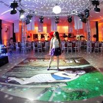 Pista De Dança 1,5x1,5m Personalizada