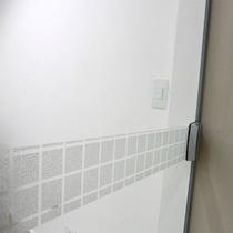 Faixa Adesivo Jateado P/ Vidro Quadra 10 Folhas De 12x100cm