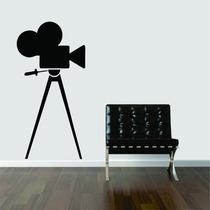 Adesivo Decorativo Parede Filme Filmadora Máquina Filmadora